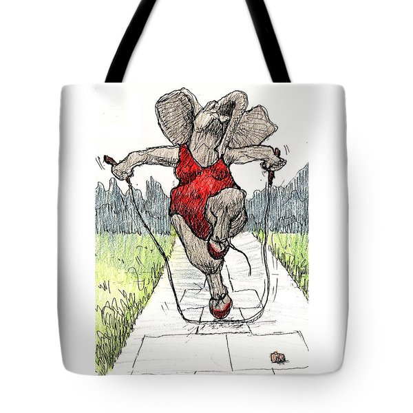 Skipping Rope Tote Bag