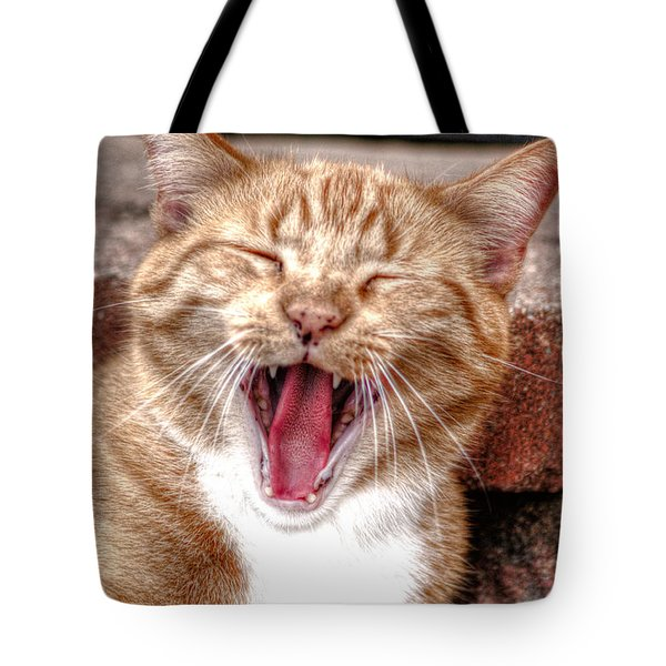 Skippy Laughing Tote Bag
