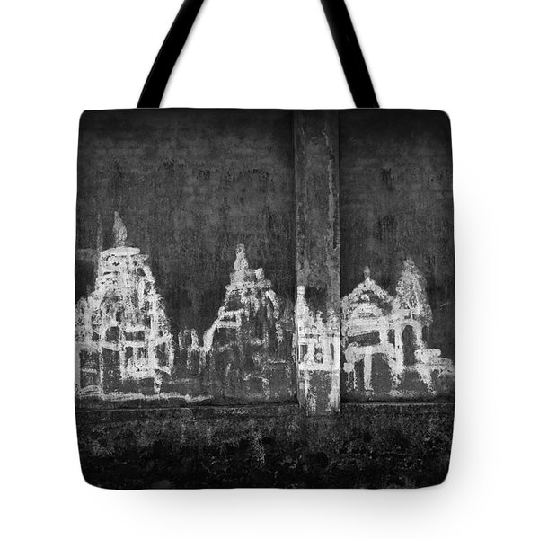 Tote Bag featuring the photograph Skc 0003 Temple Complex by Sunil Kapadia