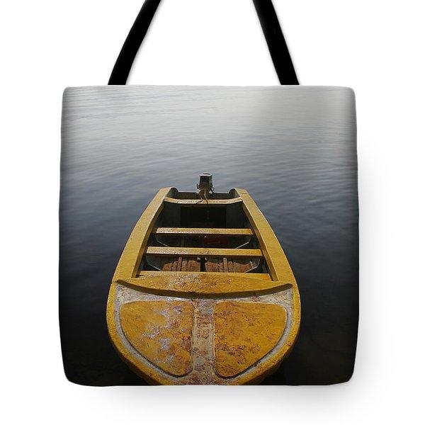 Skc 0042 Calmness Anchored Tote Bag