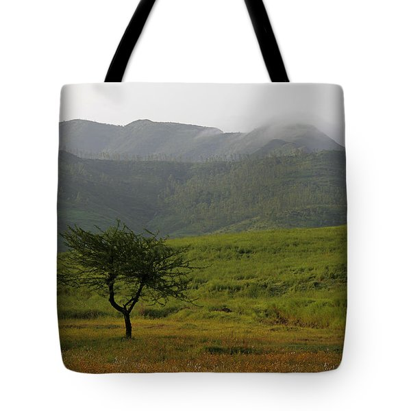 Tote Bag featuring the photograph Skc 0053 A Solitary Tree by Sunil Kapadia