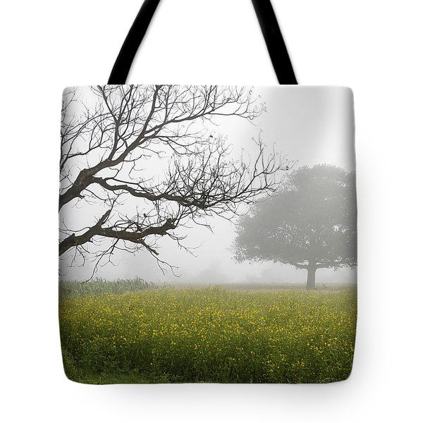 Skc 0058 Contrasty Trees Tote Bag