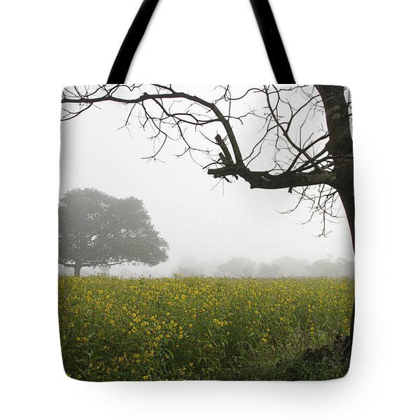 Tote Bag featuring the photograph Skc 0060 Framed Tree by Sunil Kapadia