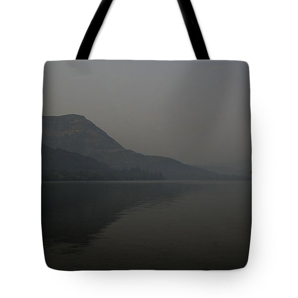 Tote Bag featuring the photograph Skc 0086 Solitary Isolation by Sunil Kapadia