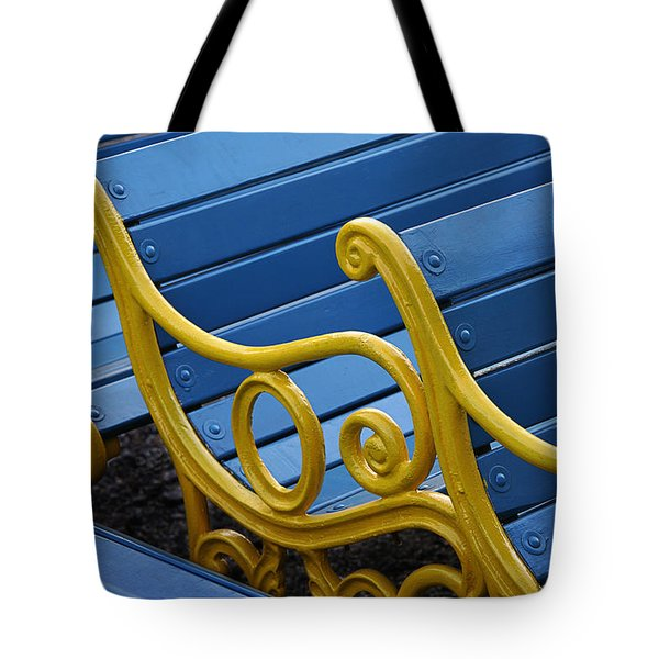 Tote Bag featuring the photograph Skc 0246 The Garden Benches by Sunil Kapadia