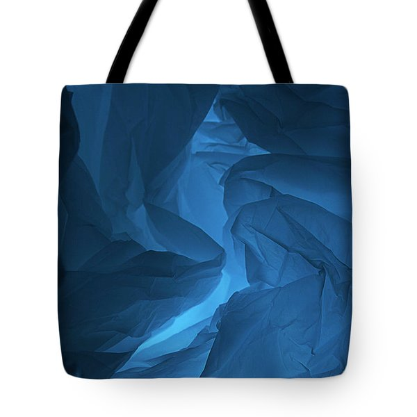 Skc 0247 Mystery In Blue Tote Bag
