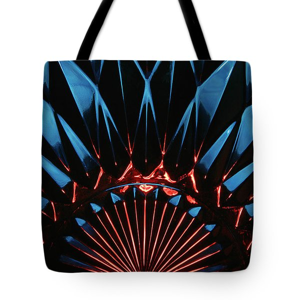 Tote Bag featuring the photograph Skc 0269 Cut Glass by Sunil Kapadia