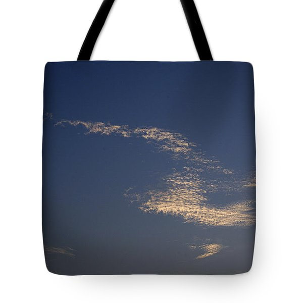 Tote Bag featuring the photograph Skc 0353 Cloud In Flight by Sunil Kapadia