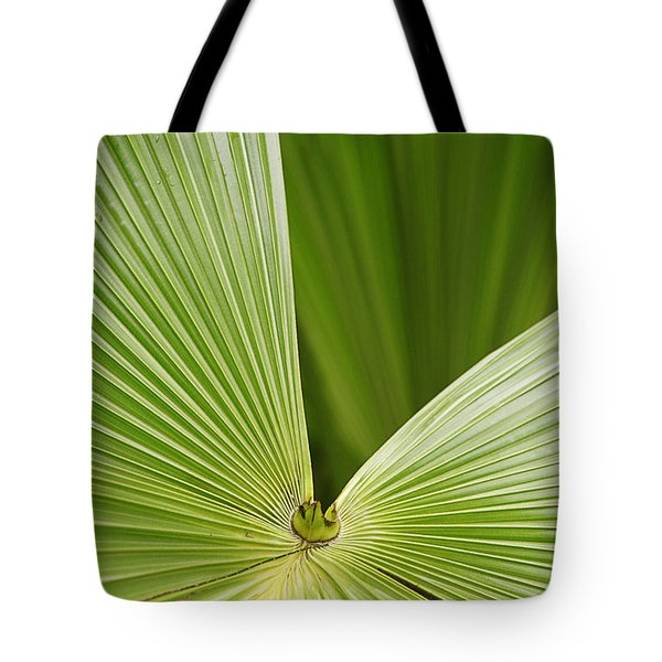 Tote Bag featuring the photograph Skc 0691 The Paths Of Palm Meeting At A Point by Sunil Kapadia