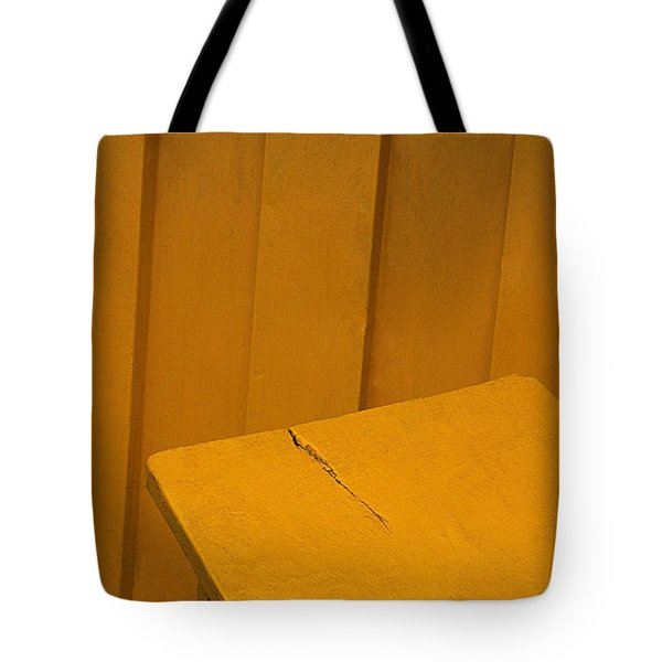 Tote Bag featuring the photograph Skc 1496 A Tea Shack Bench by Sunil Kapadia