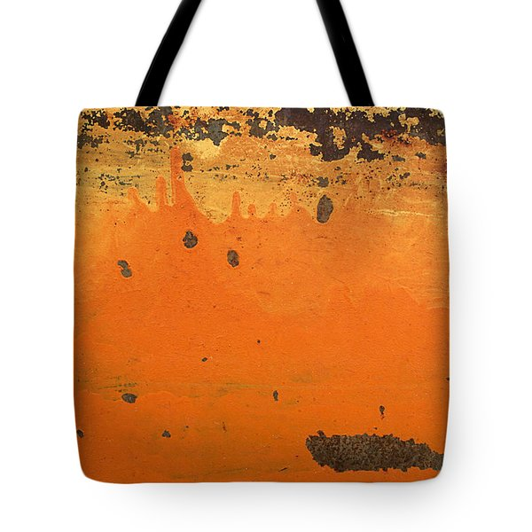 Tote Bag featuring the photograph Skc 1505 Peeled Paint by Sunil Kapadia