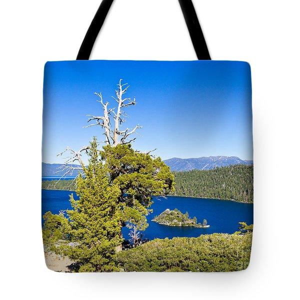 Sky Blue Water - Emerald Bay - Lake Tahoe Tote Bag