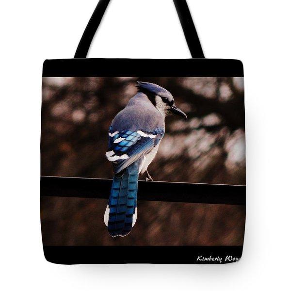 Sky Blue Wings Tote Bag