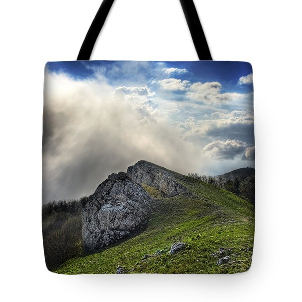 Tote Bag featuring the photograph Sky Boundary by Dmytro Korol