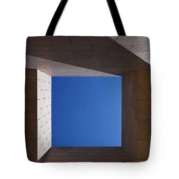 Sky Box At The Getty 2 Tote Bag