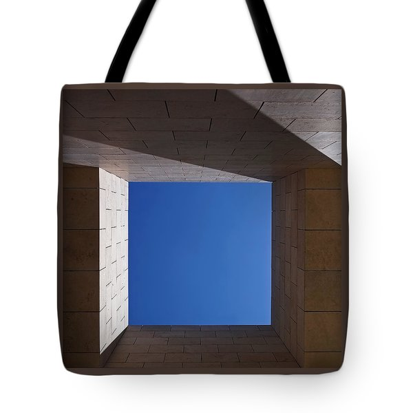 Sky Box At The Getty 2 Tote Bag