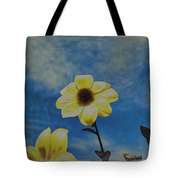 Sky Full Of Sunshine Tote Bag