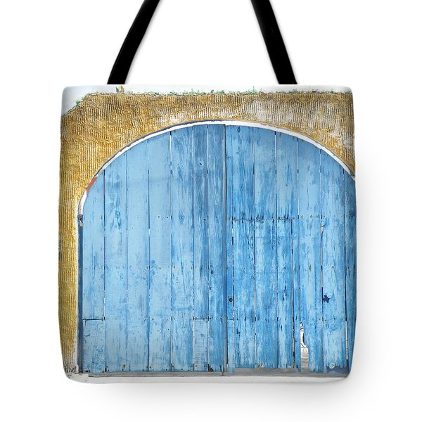 Tote Bag featuring the photograph Sky Gate by Brian Boyle