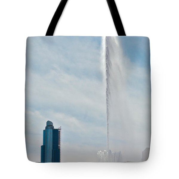 Sky High Tote Bag by Lawrence Boothby