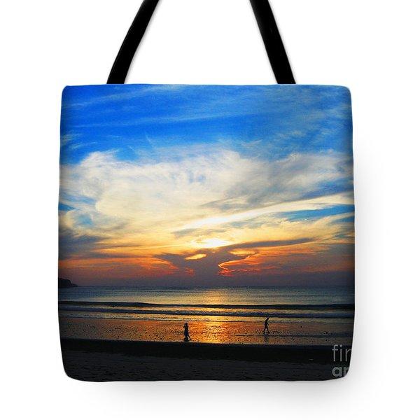 Sky Hues Tote Bag