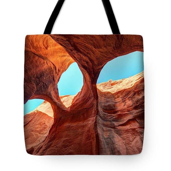 Sky Lights Tote Bag by Dustin  LeFevre