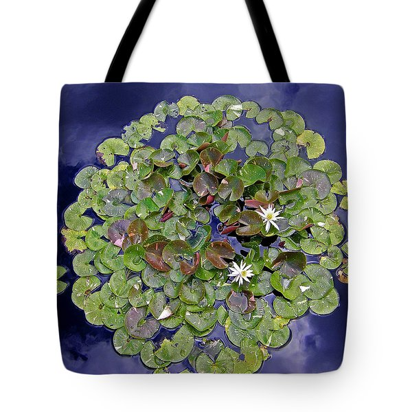 Tote Bag featuring the photograph Sky Lilies by Zafer Gurel