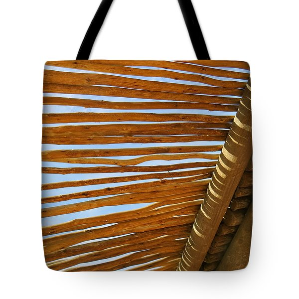 Sky-lined  Tote Bag