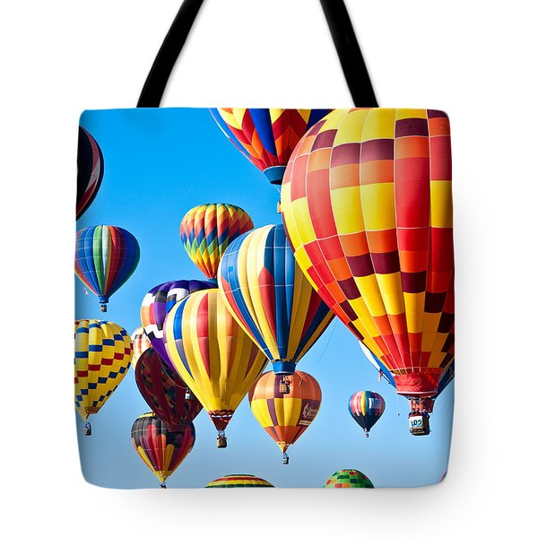 Sky Of Color Tote Bag