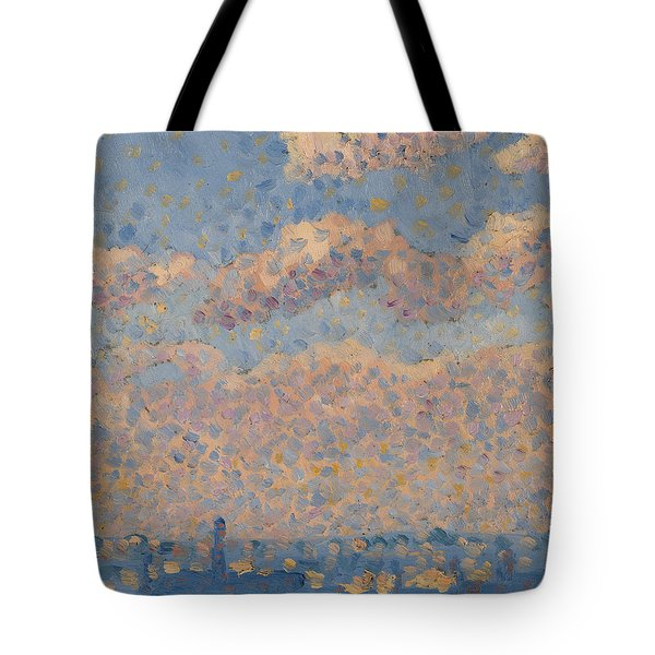 Sky Over The City Tote Bag by Louis Hayet