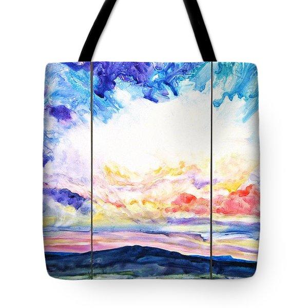 Sky Sonata Tote Bag