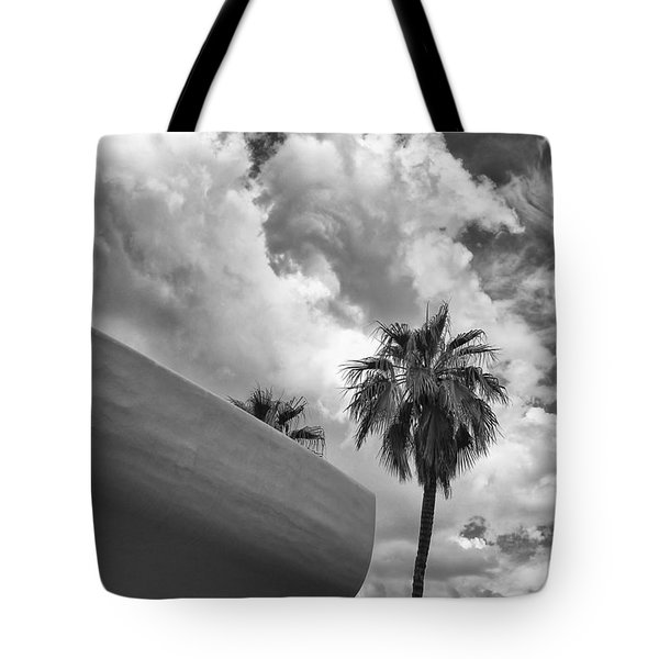 Sky-ward Palm Springs Tote Bag by William Dey