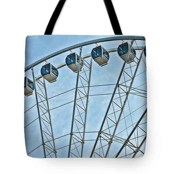 Sky Wheel  Tote Bag
