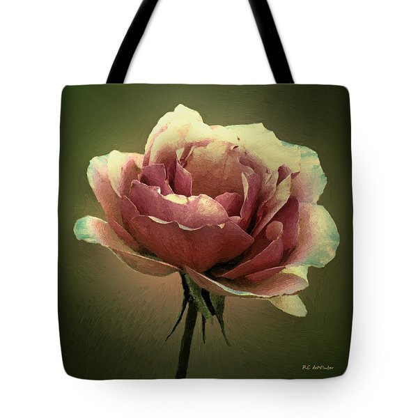 Skyblue Pink Tote Bag by RC deWinter