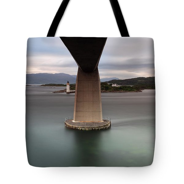 Skye Bridge At Sunset Tote Bag