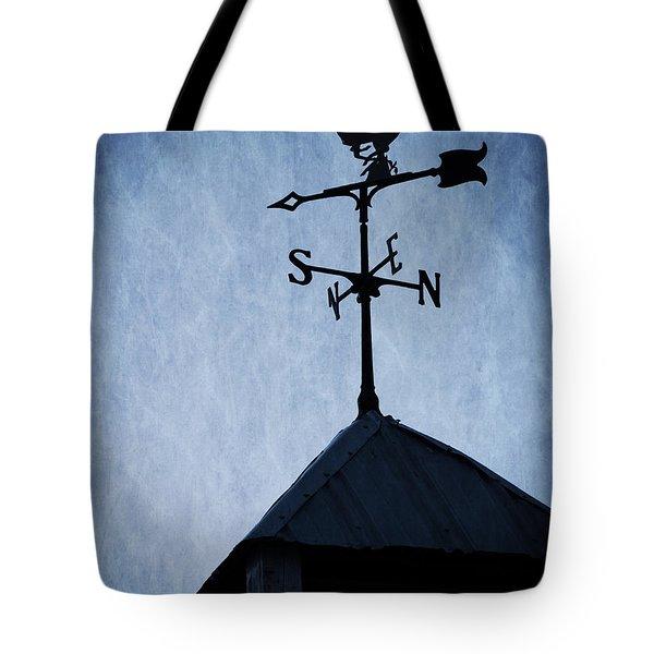 Skyfall Deer Weathervane  Tote Bag by Edward Fielding