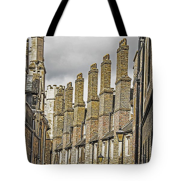 Skyline Of Cambridge Tote Bag