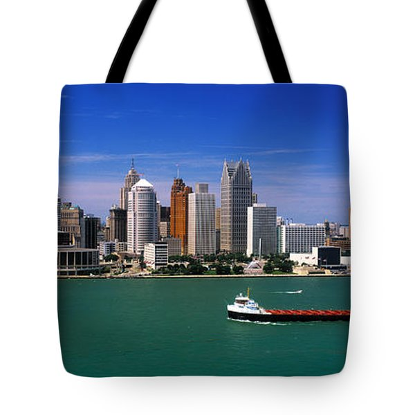 Skylines At The Waterfront, River Tote Bag