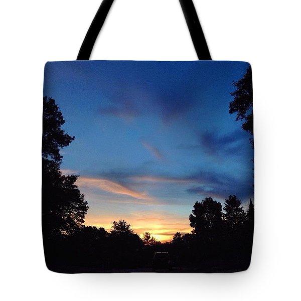 #skyporn #insta_pick_skyart Tote Bag