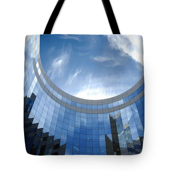 Skyscraper Tote Bag by Michal Bednarek