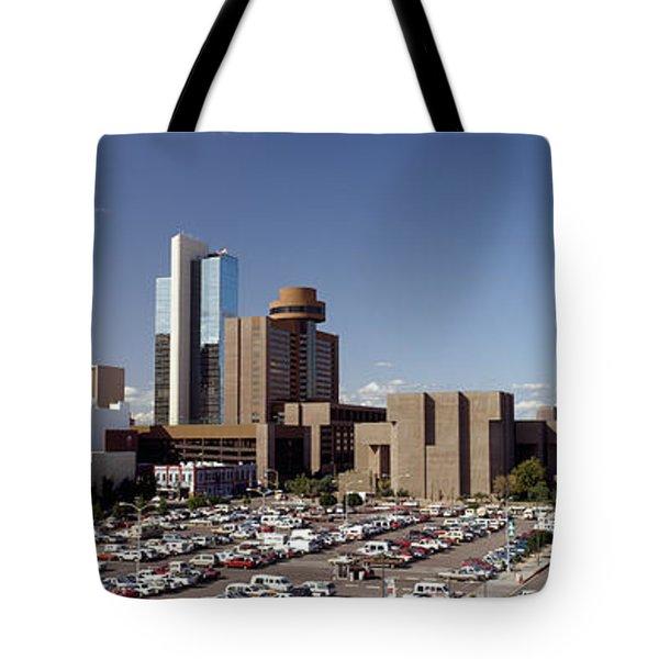 Skyscrapers In A City, Phoenix Tote Bag