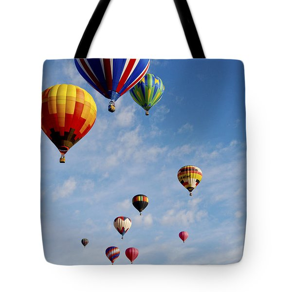 Tote Bag featuring the photograph Skyward Bound by Gina Savage