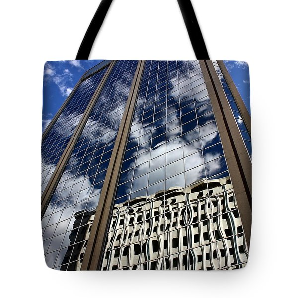 Skyward Tote Bag by Linda Bianic