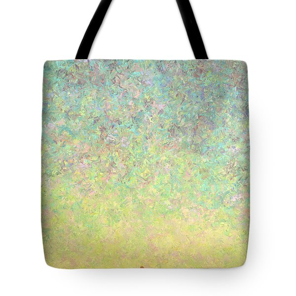 Skywatching In A Painting Tote Bag by James W Johnson