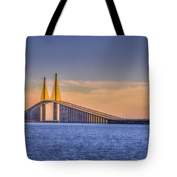 Skyway Bridge Tote Bag
