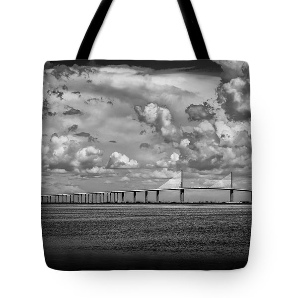 Skyway Clouds Tote Bag