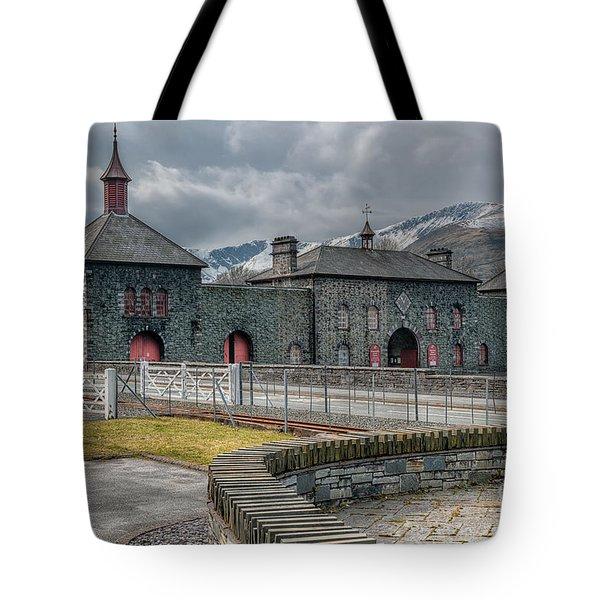 Slate Museum Tote Bag by Adrian Evans
