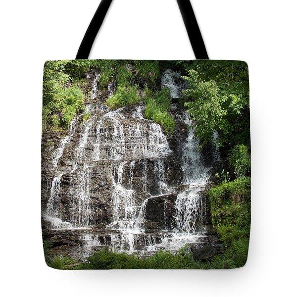Slatebrook Falls Tote Bag