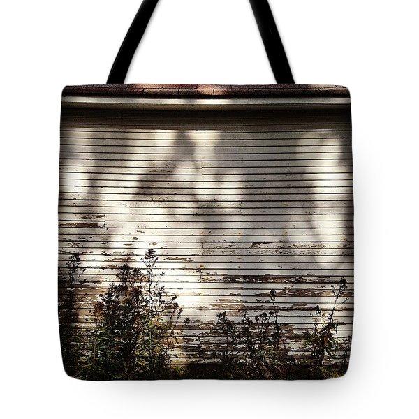 Slats And Shadows Tote Bag