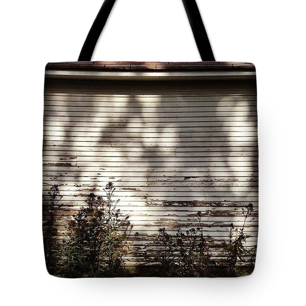 Slats And Shadows Tote Bag