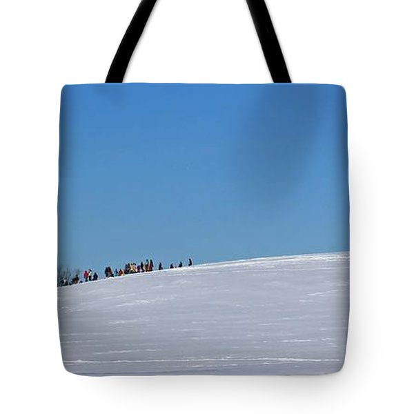 Dexter Drumlin Hill Sledding Tote Bag
